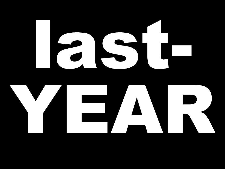 last- YEAR
