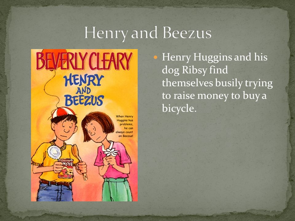 Henry Huggins and his dog Ribsy find themselves busily trying to raise money to buy a bicycle.