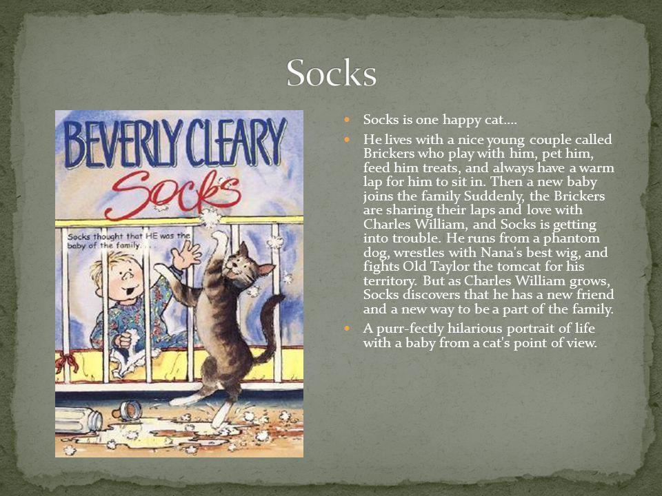 Socks is one happy cat....