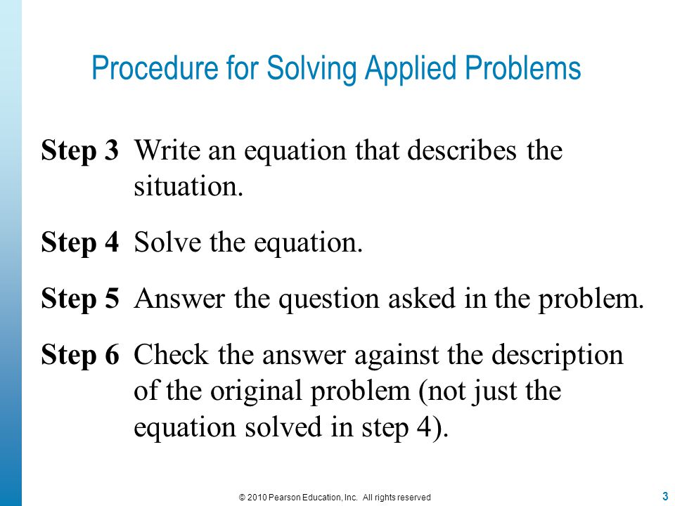 EXAMPLE 5 Page 106 Problem # 44 14 © 2010 Pearson Education, Inc.