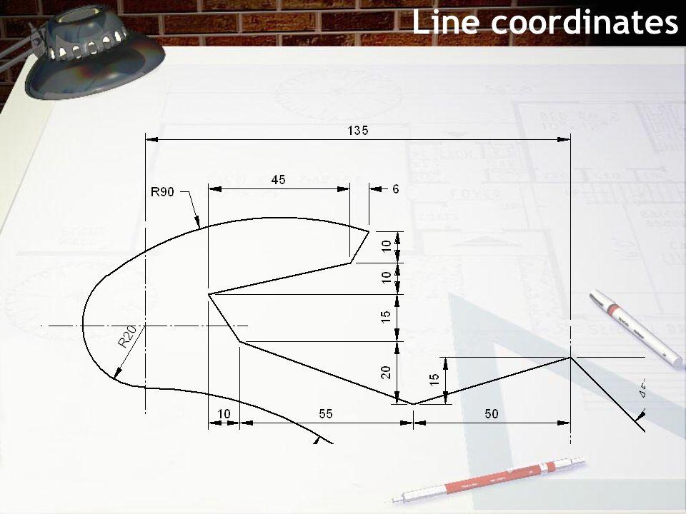 Line coordinates