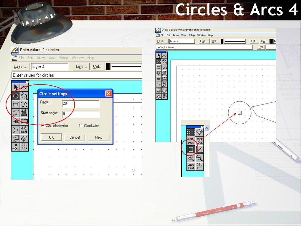 Circles & Arcs 4