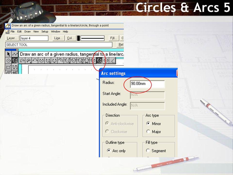 Circles & Arcs 5