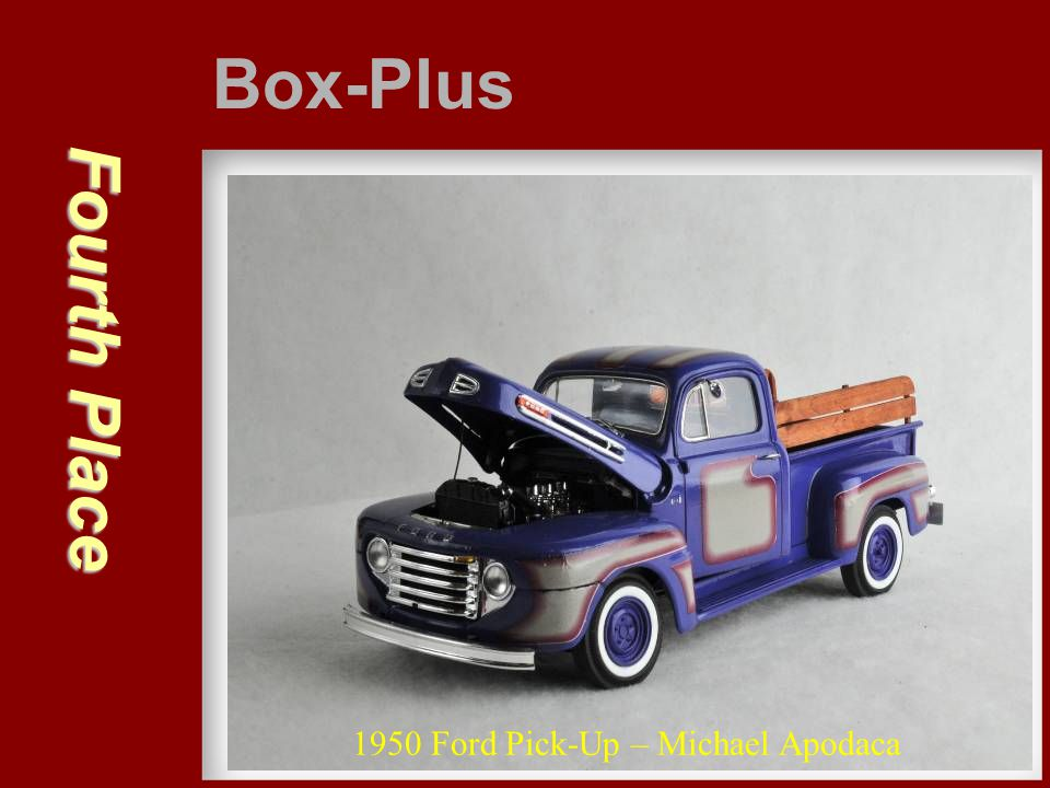Third Place Box-Plus Ferrari Daytona Coupe – Gary Kulchock
