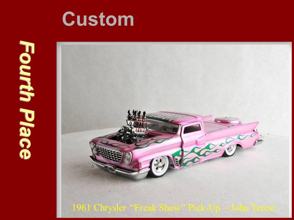"""Fourth Place Custom 1961 Chrysler """"Freak Show"""" Pick-Up – John Teresi"""