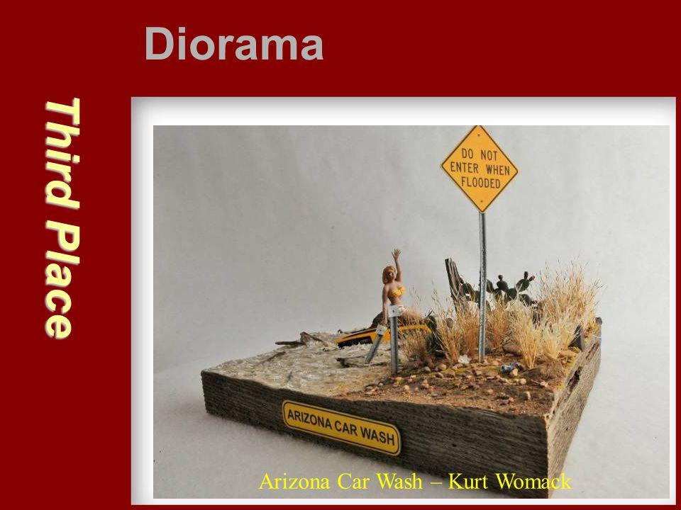 Third Place Diorama Arizona Car Wash – Kurt Womack