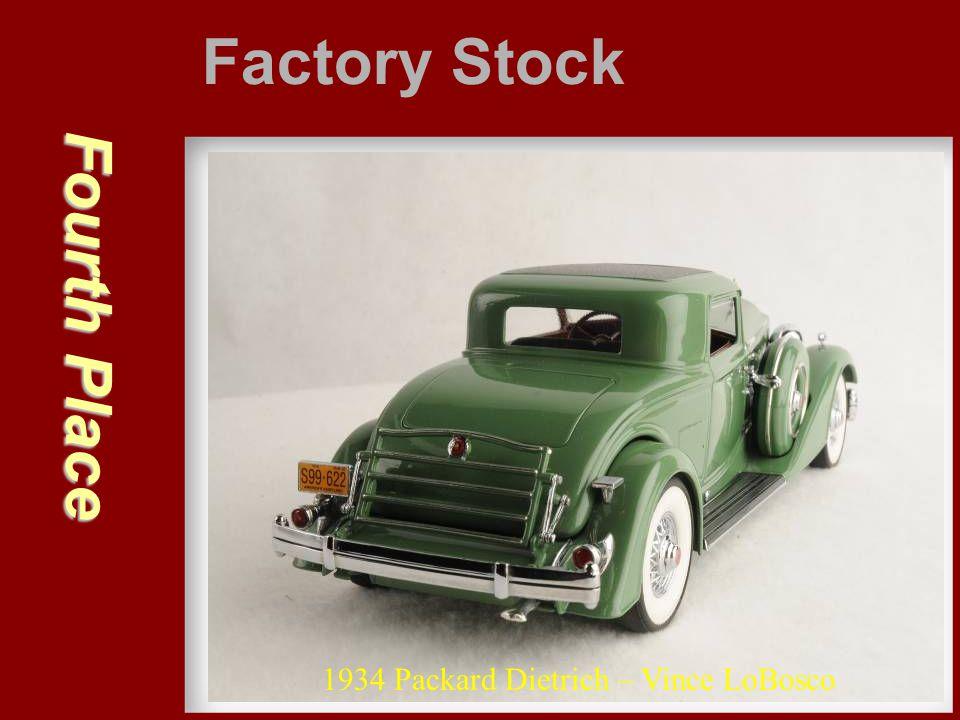 Fourth Place Factory Stock 1934 Packard Dietrich – Vince LoBosco