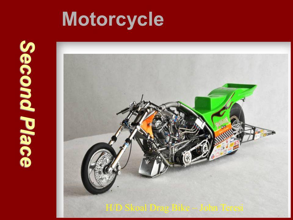 Second Place Motorcycle H/D Skoal Drag Bike – John Teresi