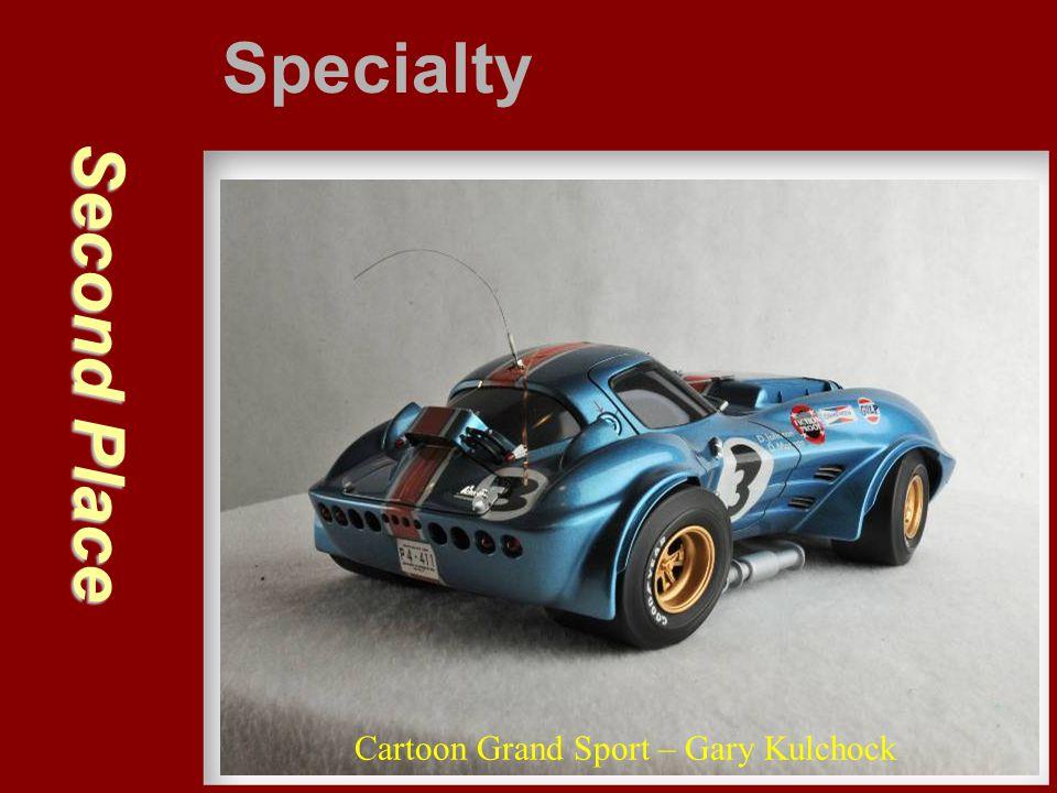 Second Place Specialty Cartoon Grand Sport – Gary Kulchock