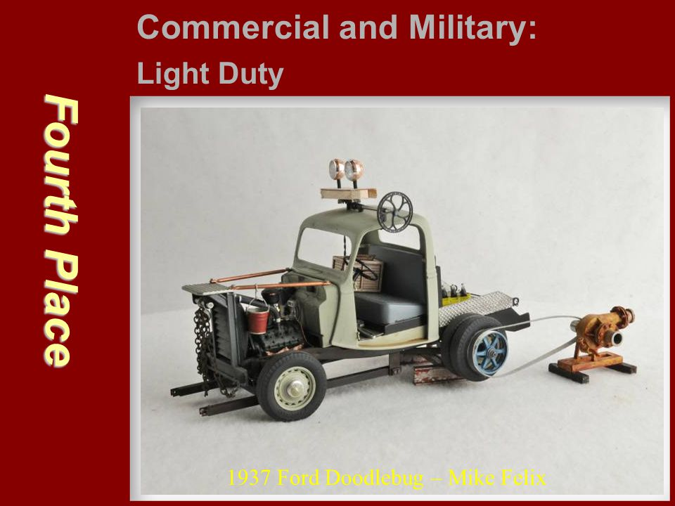 Third Place Commercial and Military: Light Duty Chevy 15 CWT – Gary Moore