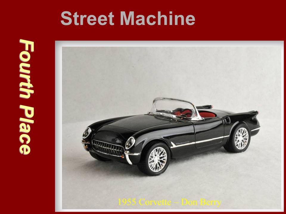 Fourth Place Street Machine 1955 Corvette – Don Berry