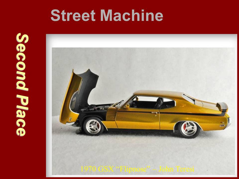 "Second Place Street Machine 1970 GSX ""Flipnose"" – John Teresi"