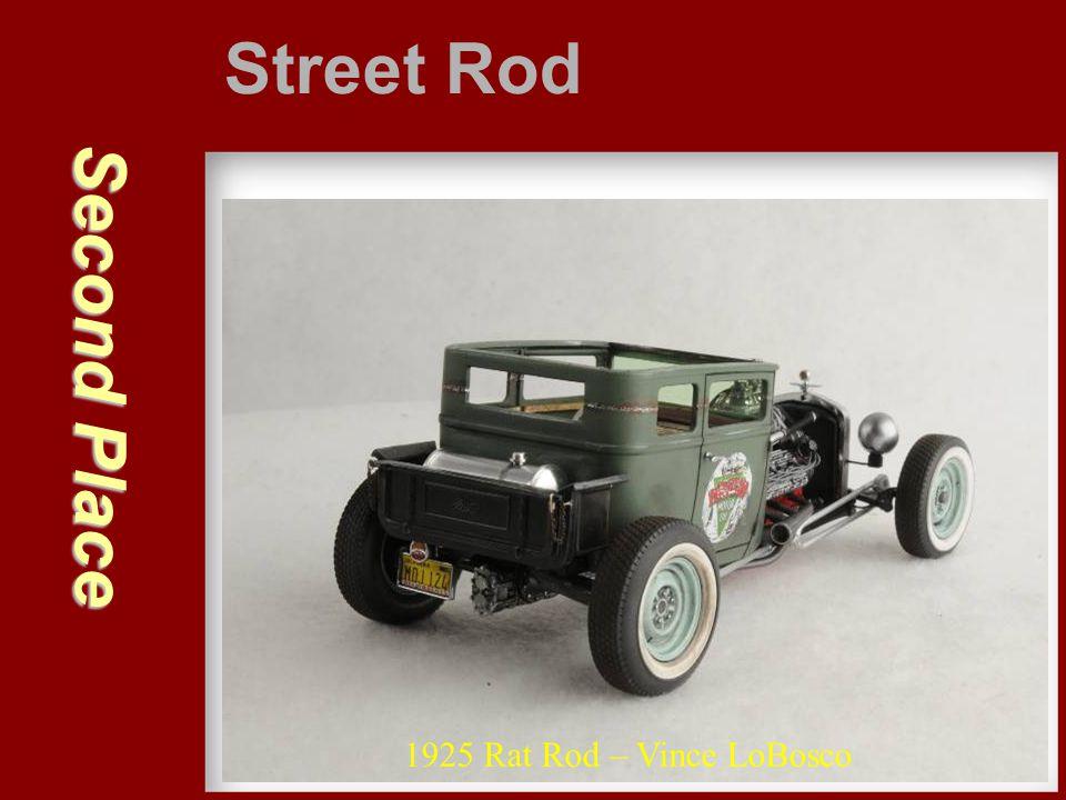 Second Place Street Rod 1925 Rat Rod – Vince LoBosco
