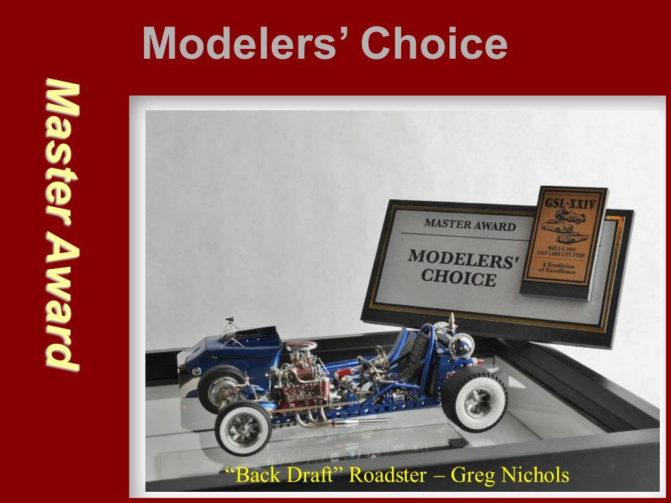 "Master Award Modelers' Choice ""Back Draft"" Roadster – Greg Nichols"