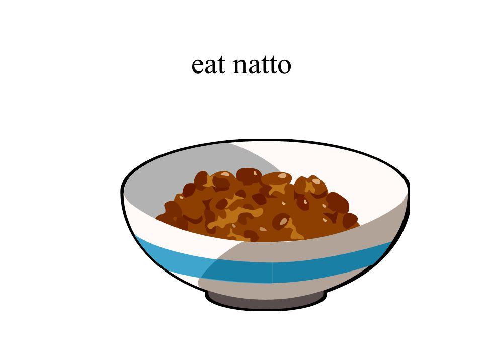 eat natto