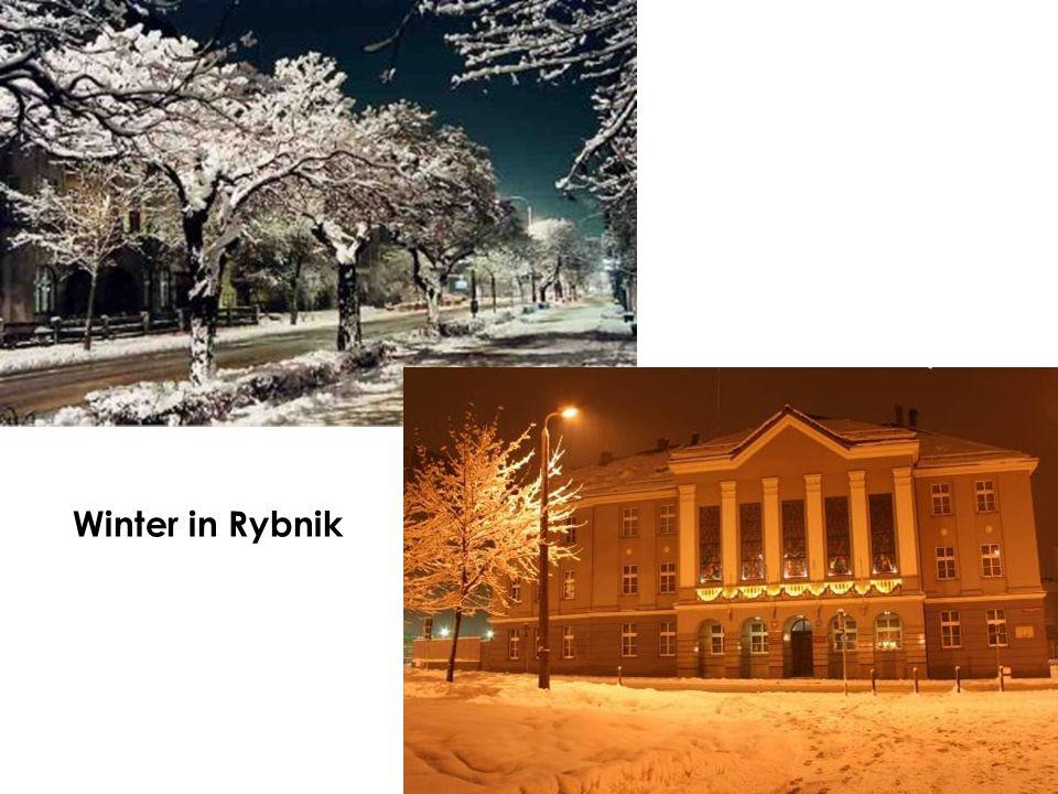 Winter in Rybnik
