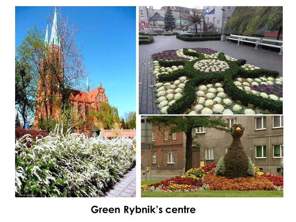 Green Rybnik's centre
