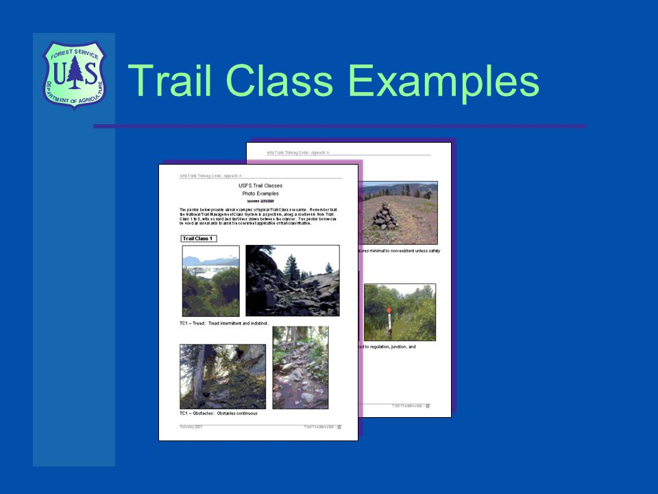 Trail Class Examples