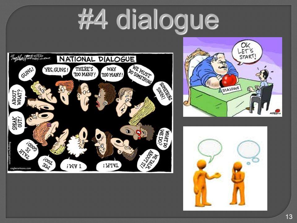 13 #4 dialogue