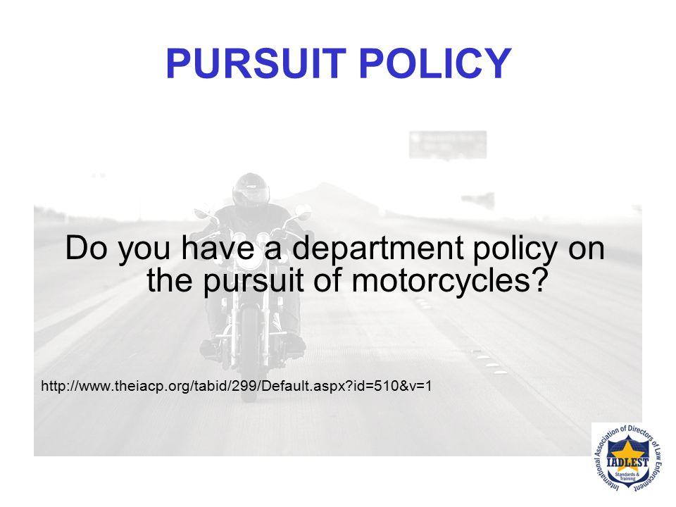 """PURSUIT OPTIONS """"Motorcycle Pursuit Story on KOMO"""" courtesy Washington SP"""