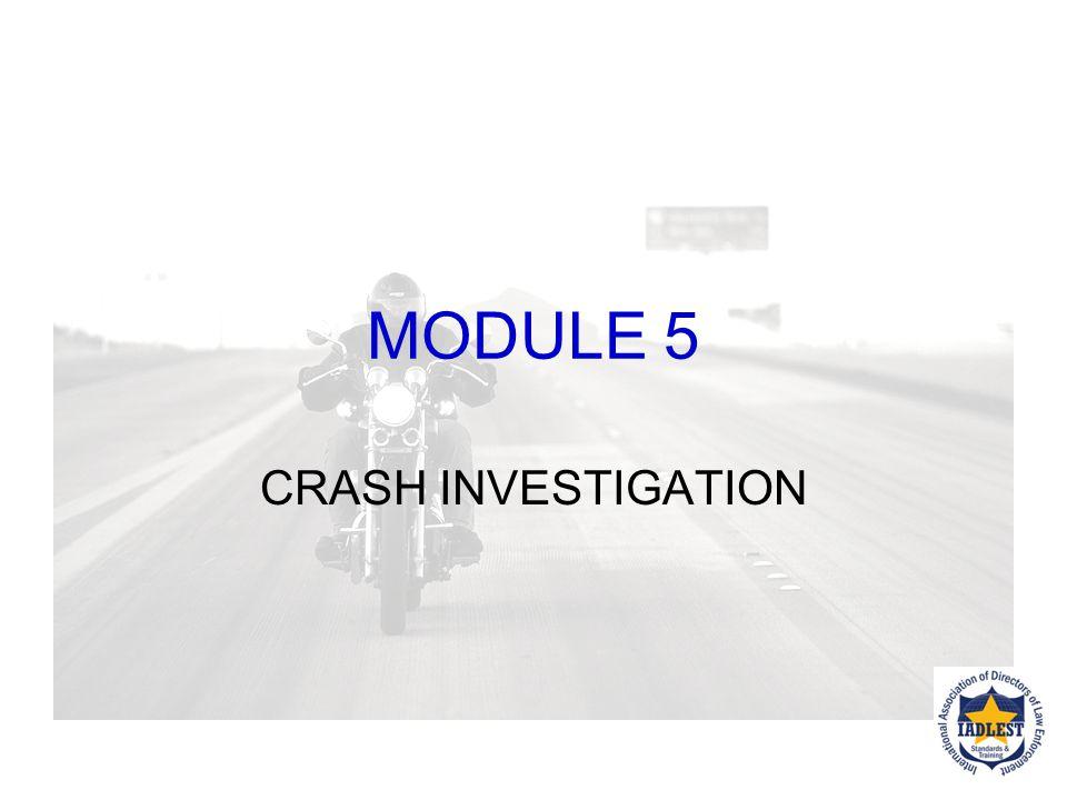 Next up, CRASH INVESTIGATION Pointers…