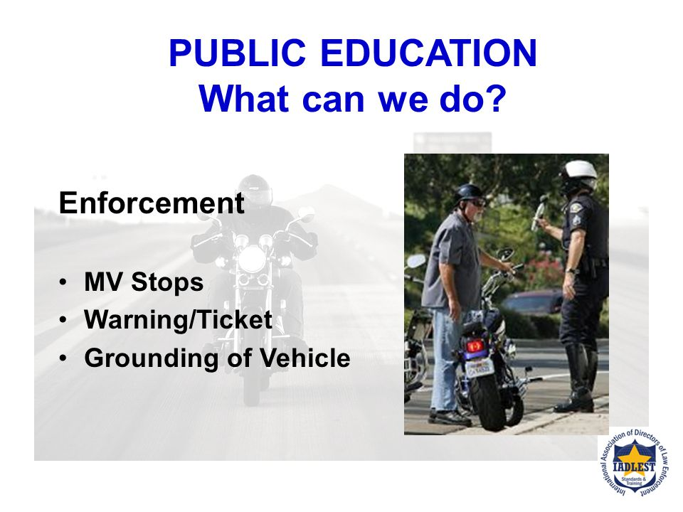 PUBLIC EDUCATION What can we do.