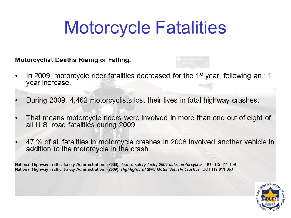 Motorcycle Risks Motorcyclists Are at Risk from Other Drivers. After a crash, the drivers of other vehicles involved often say they never saw the moto