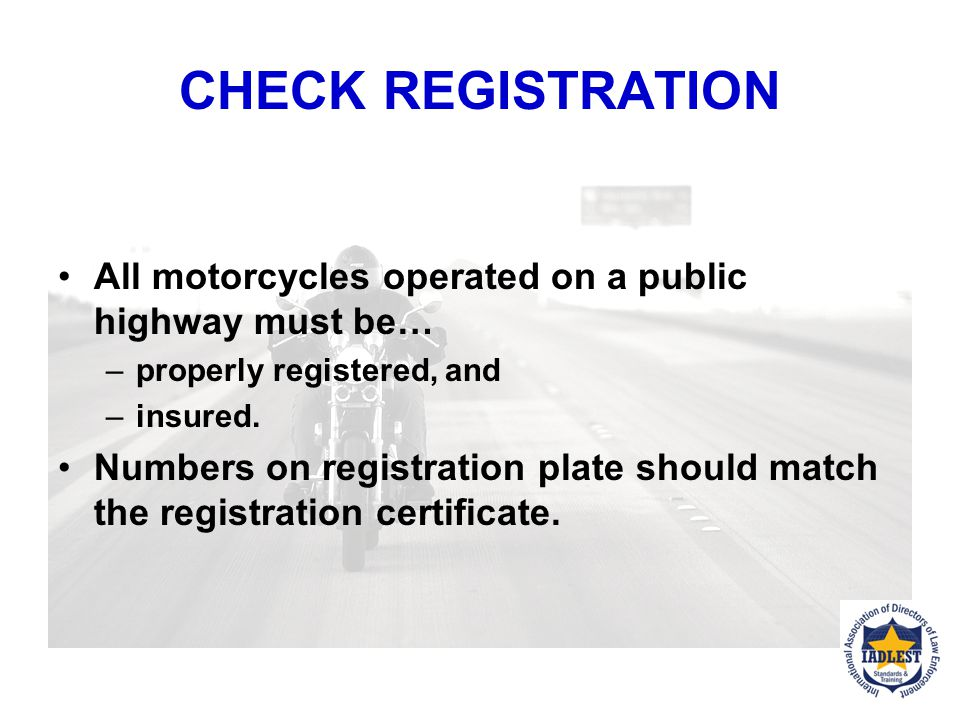 """Motorcycle Endorsement Kansas All operators operating a MC registered in Kansas must have a class """"M"""" endorsement (motorized bicycle can have a class"""