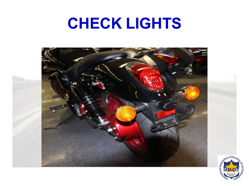 CHECK LIGHTS KSA 8-17 When are headlights required? What distance must headlamp illuminate? Do the high and low beams work? Are turn signal lights/tai
