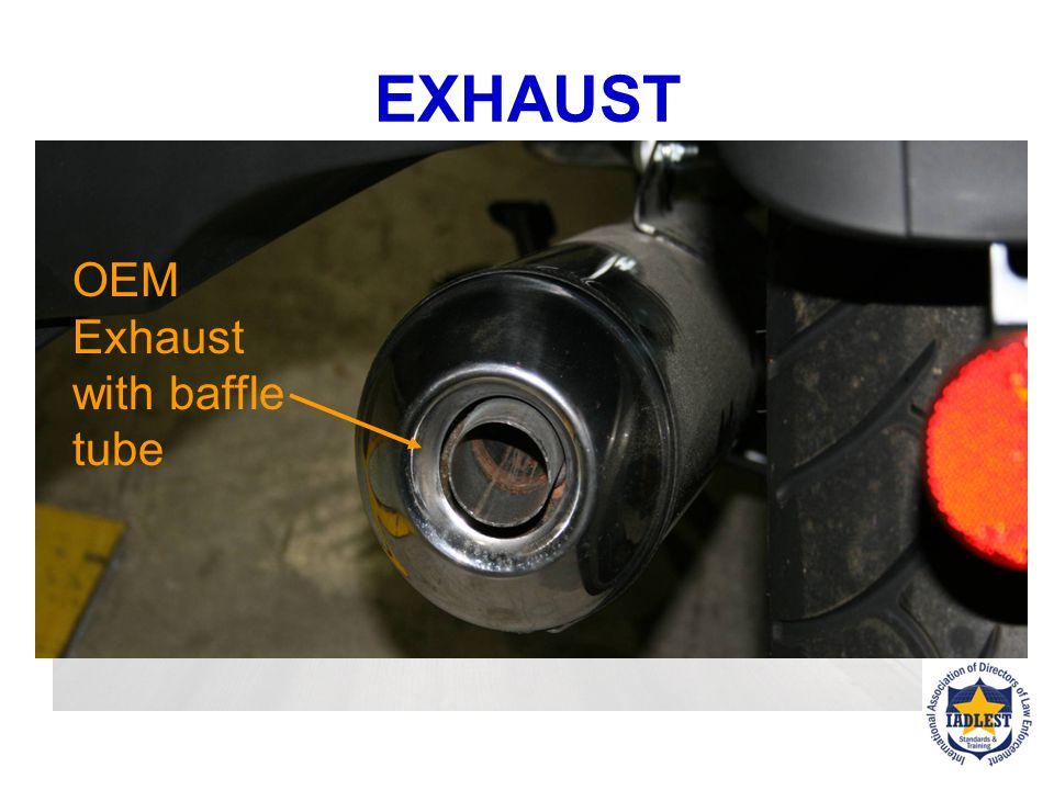Muffler body Fiberglass baffling Exhaust tube EXHAUST ANATOMY