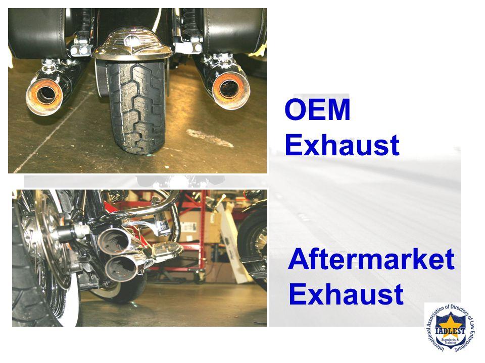 OEM Exhaust with baffle tube EXHAUST