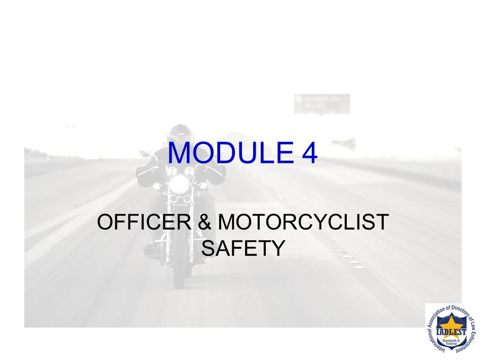 """Detection of DWI Motorcyclists """"The percentage with BAC.08 g/dL or above was highest for fatally injured motorcycle riders among two age groups, 40-44"""