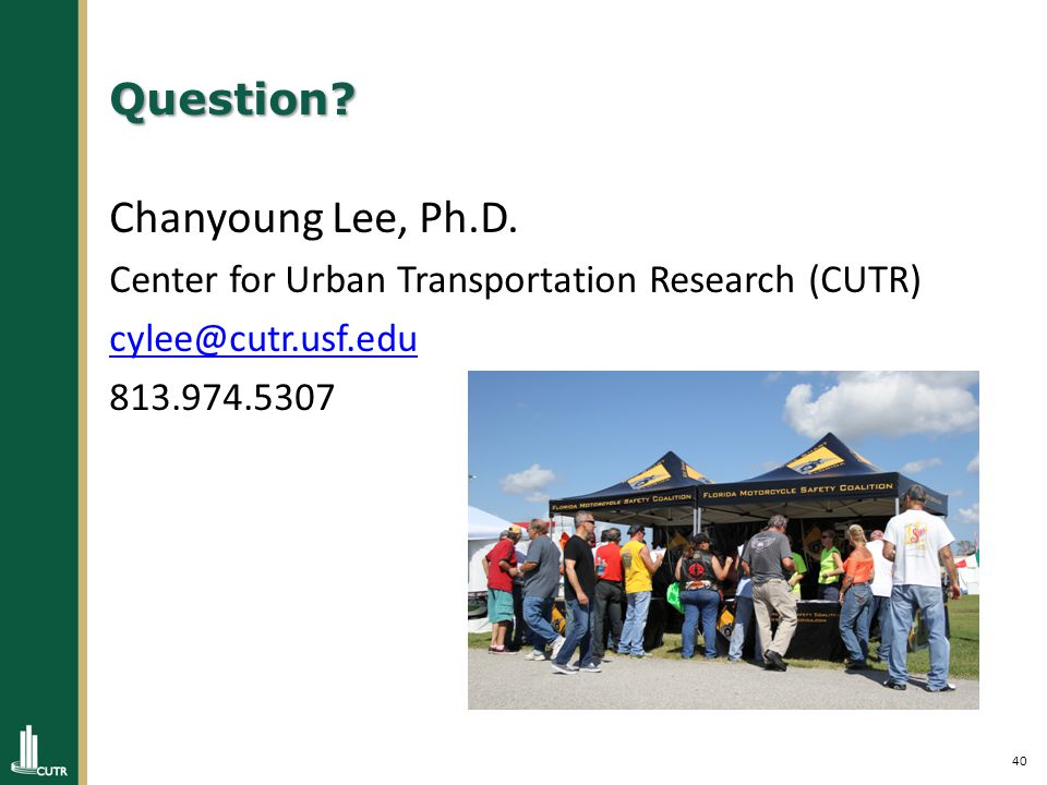 40 Question. Chanyoung Lee, Ph.D.