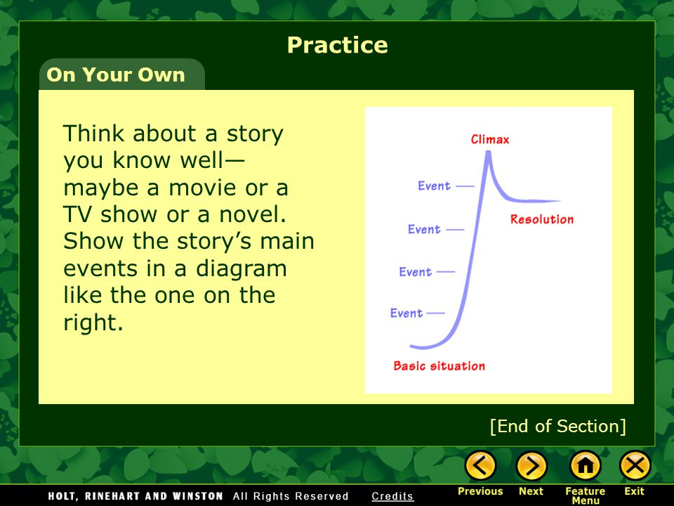 Let's Try It 9. How is the story's conflict resolved.