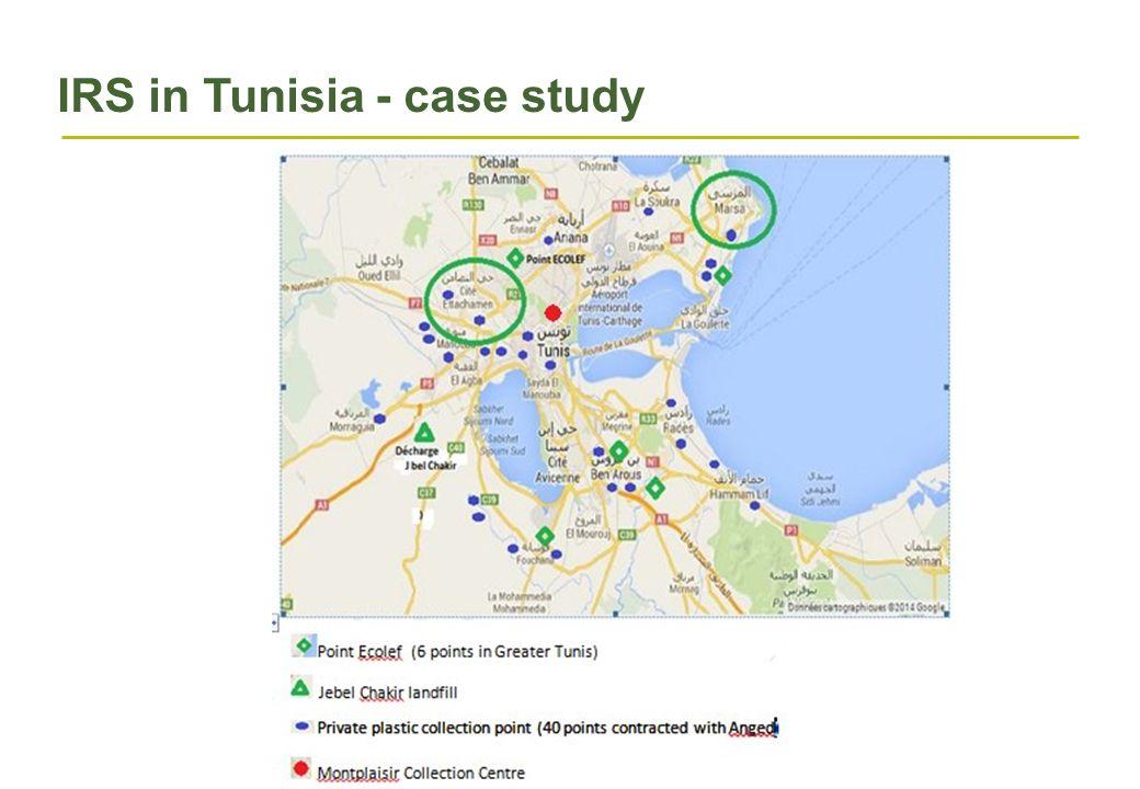 IRS in Tunisia - case study