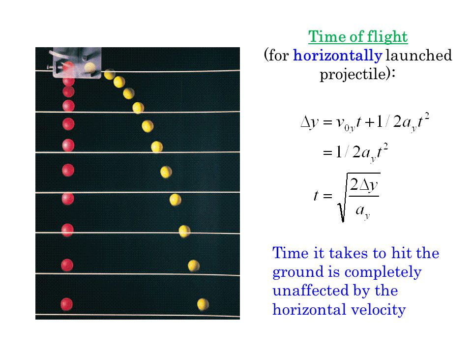 A projectile is an object shot through the air upon which the only force acting is gravity (neglecting air resistance). The trajectory (path through s