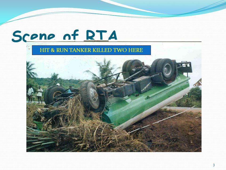 Scene of RTA HIT & RUN TANKER KILLED TWO HERE 3