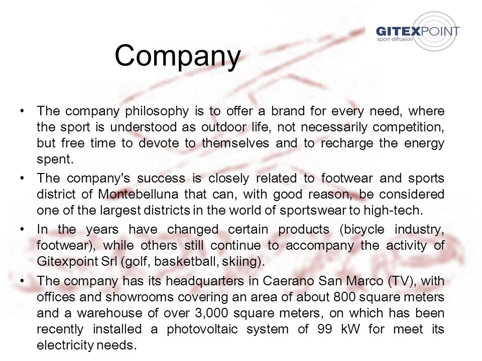 21/06/20137 PRODUCTS GitexPoint S.r.l.