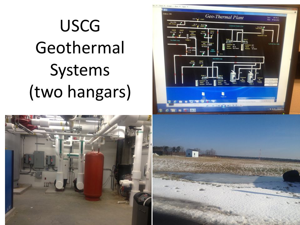 USCG Geothermal Systems (two hangars)