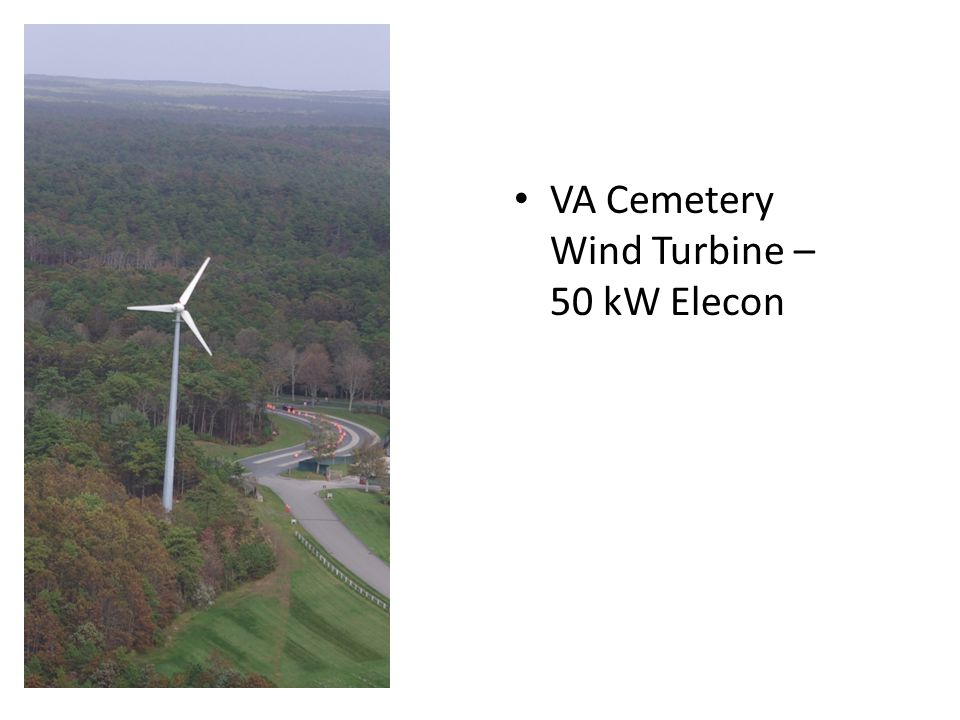 19 AFCEC Wind I Fuhrlaender 1.5 MW, 80 m hub, 77 m rotor Five year project; date of operation 2 Dec 09 $4.8M (included studies and two years O&M) – jointly funded by AF and Army Earned $1.4M through May 2013 Owned and operated by AFCEC