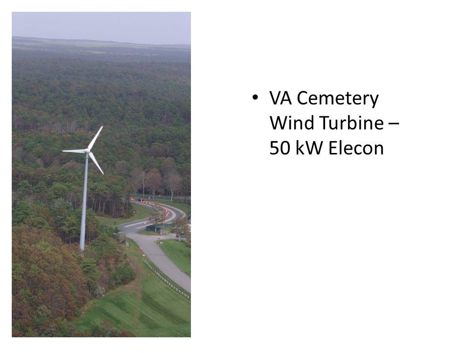 VA Cemetery Wind Turbine – 50 kW Elecon