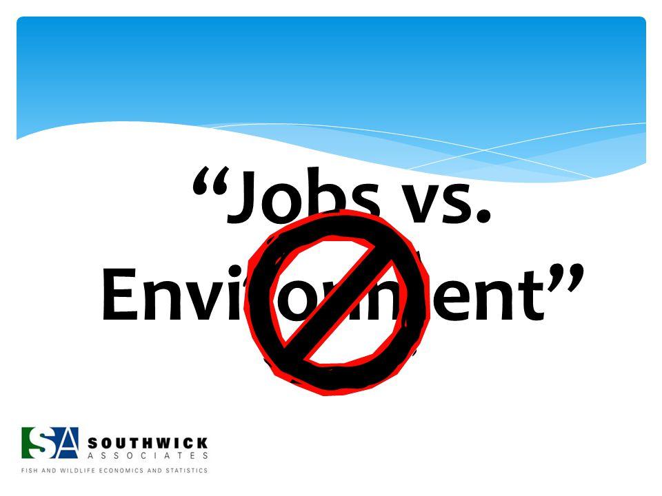 """Jobs vs. Environment"""