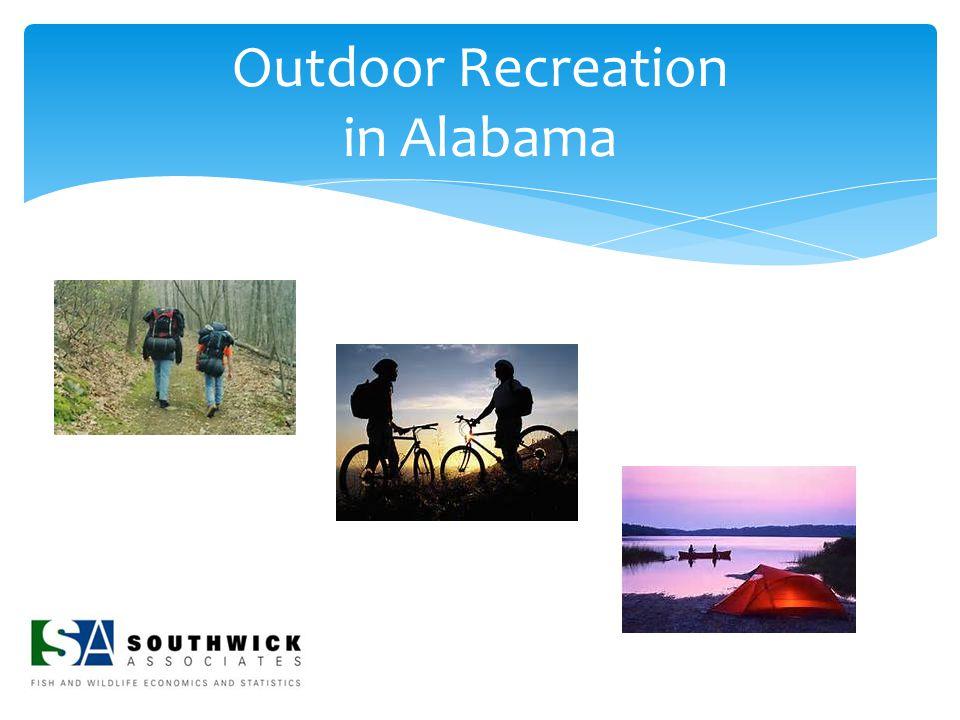 Outdoor Recreation in Alabama