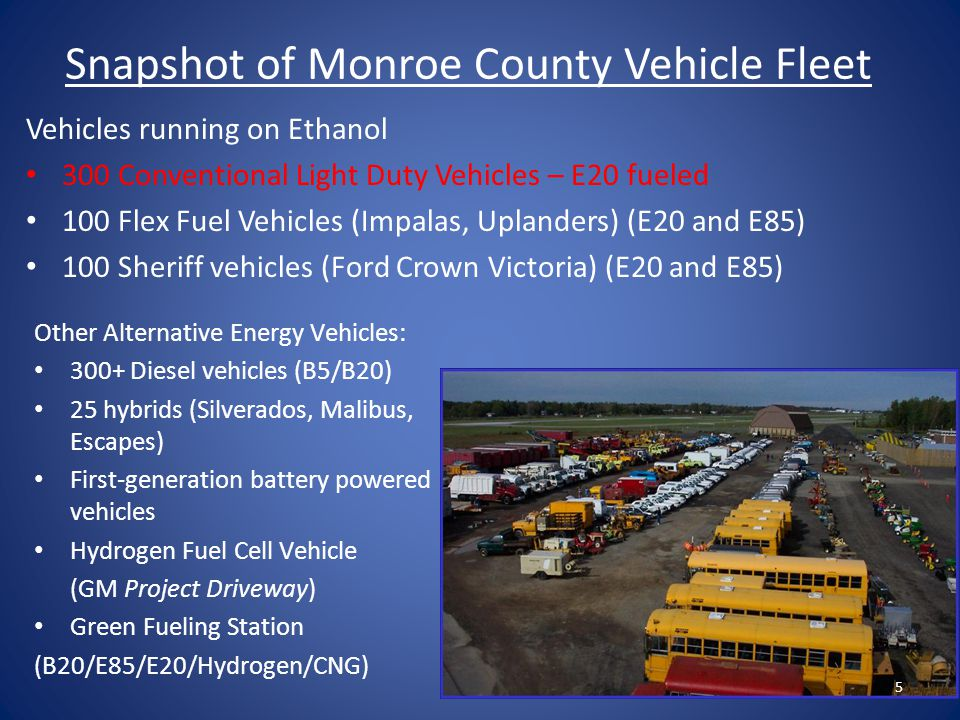 E20 Fuel Economy Results Fuel economy was determined through on-road data and experimentally.