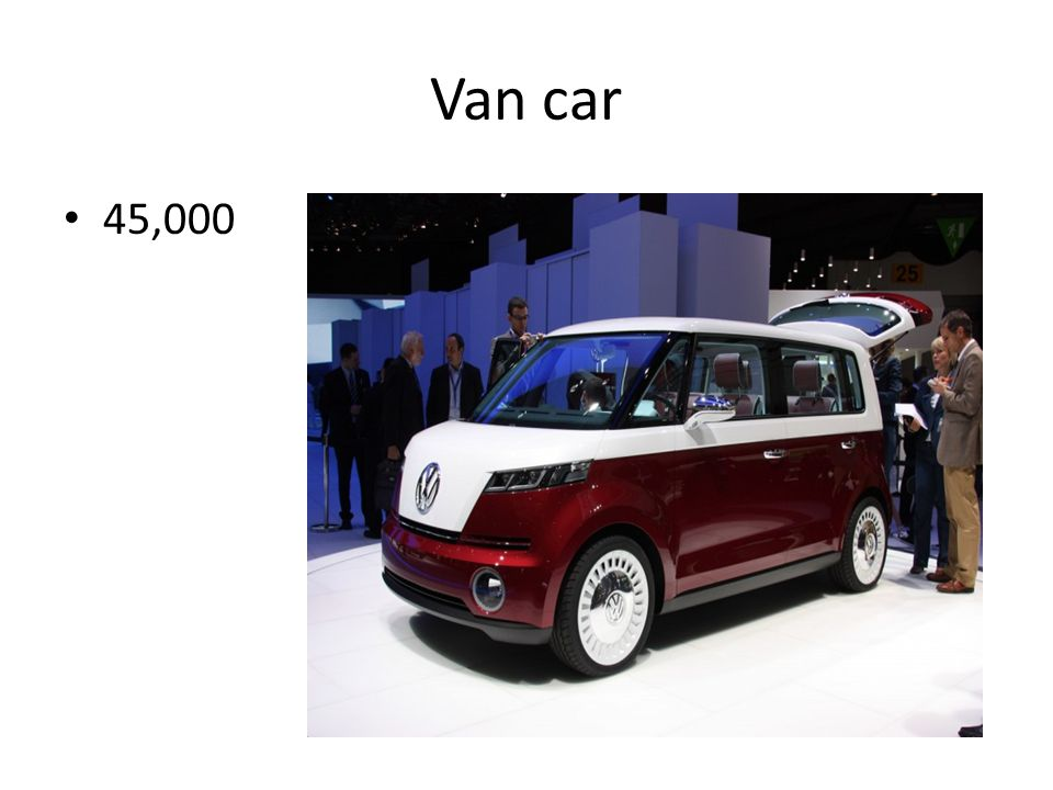 Van car 45,000