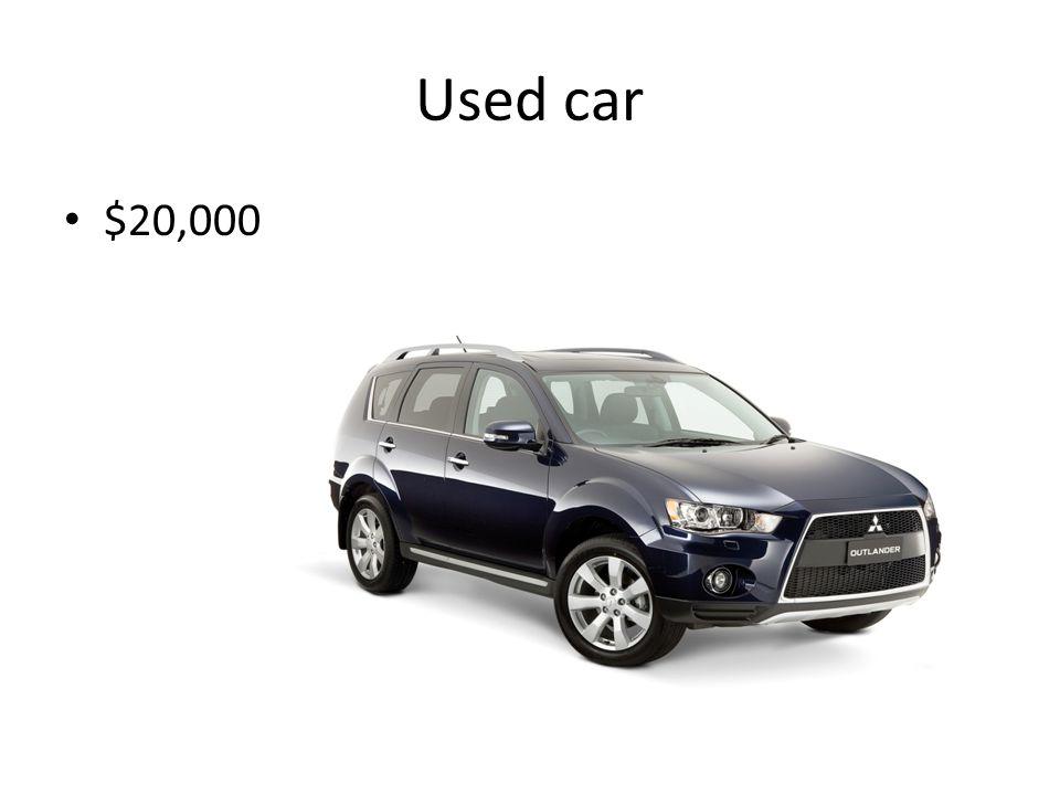 Used car $20,000