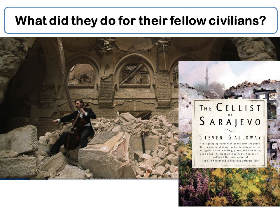 What did they do for their fellow civilians?