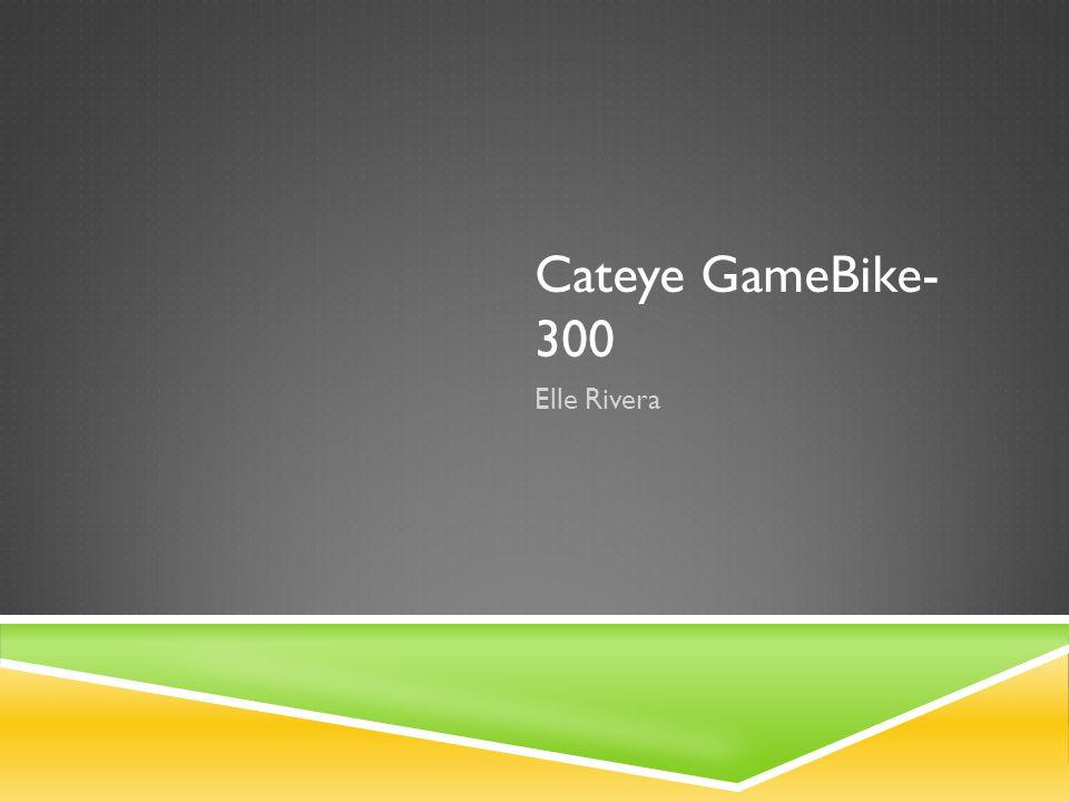 Cateye GameBike- 300 Elle Rivera