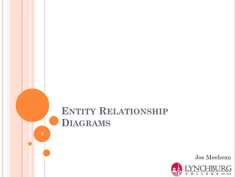 E NTITY R ELATIONSHIP M ODEL Entity type an object (noun) e.g., student attributes (e.g., last name) Relationship association between entity types bidirectional relationship between entities e.g., students take course offerings Student Last name First name Student ID Verb 2