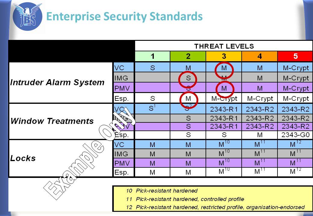 Enterprise Security Standards